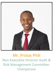 Non- Executive Director Audit & Risk Management Committee, Mr_Protas_Phili