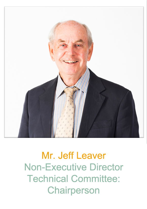 Non-Executive Director  Mr Jeff Leaver