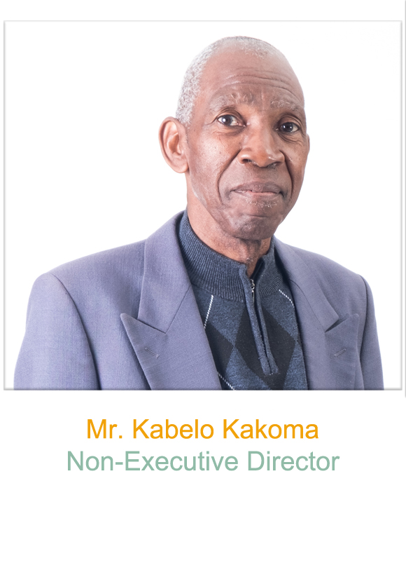 Non-Executive Director Mr Kabelo Kakoma